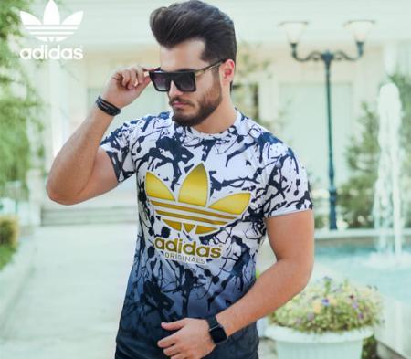 تیشرت مردانه Adidas مدل Boxer
